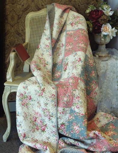 Beguiled Bouquet Patchwork Quilt
