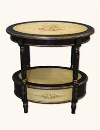 ABIGAIL OVAL TEA TABLE