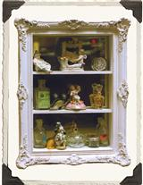 FRENCH GOTHIC CURIO CABINET