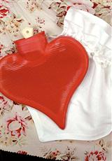 WARM HEART HOT WATER BOTTLE