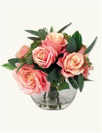 EVERLASTING BOUQUET IN ROSE BOWL