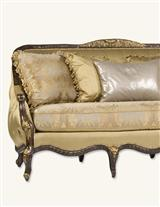 PLATINUM & STERLING ANTOINETTE SOFA