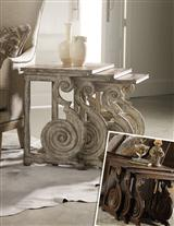 ROMANESQUE SCROLL SIDE TABLES
