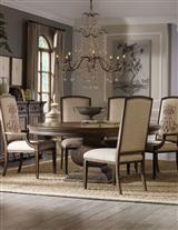 CHANDELIER DINING TABLE