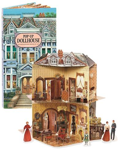 Pop-up Dollhouse Book