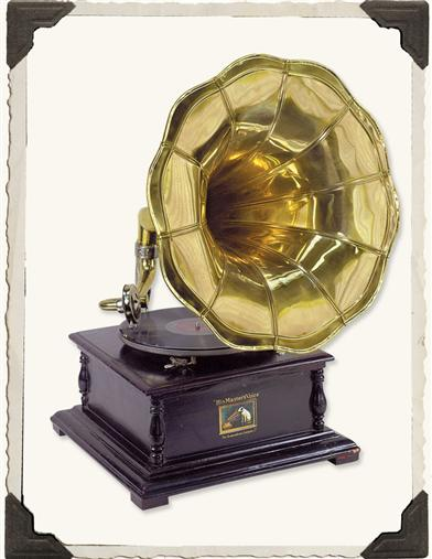 GRAMOPHONE (DISPLAY PIECE)