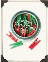 HOLIDAY CAN O' CLIPS (SET OF 2)