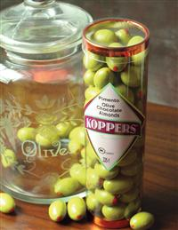 CANDY OLIVES- CHOCOLATE COVERED ALMONDS