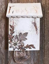 SHABBY CHARM GROCERY BAG DISPENSER
