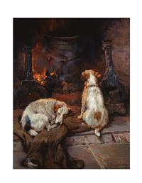 WARMING BY THE HEARTH