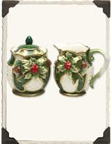 BAYBERRY COTTAGE SUGAR & CREAMER SET