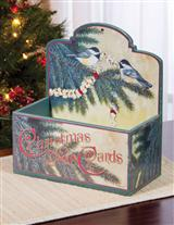 VINTAGE CHRISTMAS CARD HOLDER