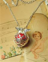 CUPID'S HEART CHIME PENDANT