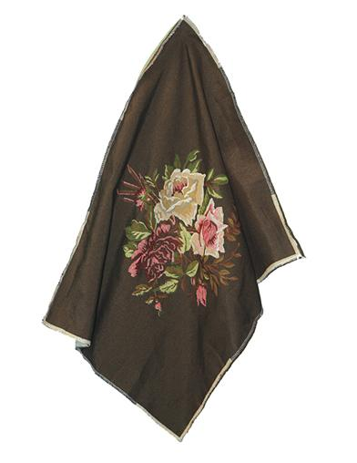 Tapestry Chair Upholstery Fabric (Brown)