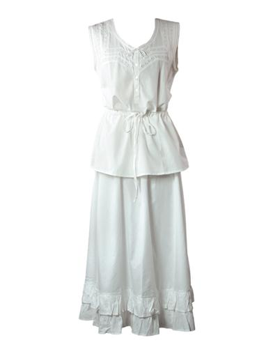 Victorian Hoop Skirt, Petticoat, Underwear Hopeless Romantic Camisole  Petticoat $49.95 AT vintagedancer.com
