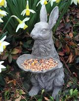 RABBIT BIRD FEEDER
