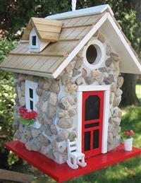 Stone Cabin For A Songbird