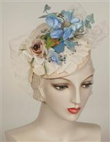 LOUISE GREEN BOUQUET HEADBAND