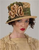 LOUISE GREEN TEA TOP HAT