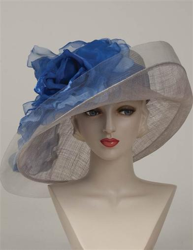 Edwardian Style Hats, Titanic Hats, Derby Hats Louise Green First Place Derby Hat $399.95 AT vintagedancer.com