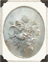 ENGLISH BOUQUET PLAQUE