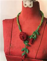 ROSEBRIER BEADED NECKLACE