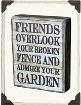 FRIENDS OVERLOOK SIGN