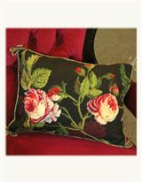 ELIZABETHAN NEEDLEPOINT PILLOW