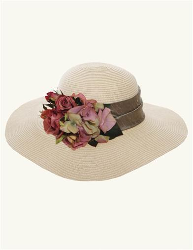 Edwardian Style Hats, Titanic Hats, Derby Hats Mirabella Floppy Hat $69.99 AT vintagedancer.com