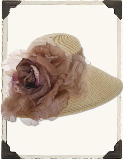 Edwardian Style Hats, Titanic Hats, Derby Hats Glorious Hat $79.99 AT vintagedancer.com