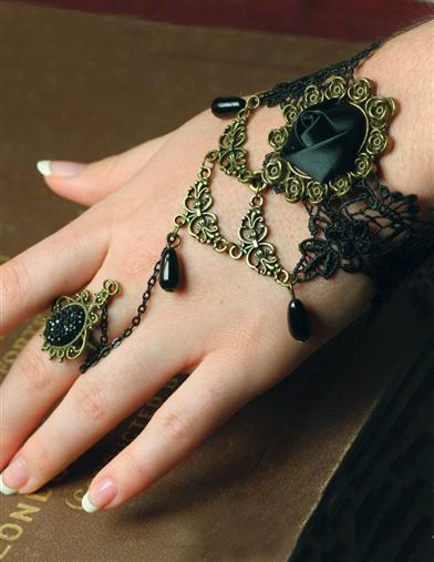 Victorian Jewelry Rings, Earrings, Necklaces, Hair Jewelry OpheliaS Bracelet $7.99 AT vintagedancer.com