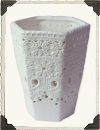 LACEWORK CONTAINER