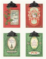 CHRISTMAS CLASSICS CLIPBOARDS
