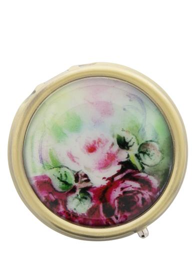 1900-1910 Edwardian Makeup and Beauty Products Roses Pill Box $4.99 AT vintagedancer.com