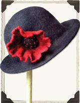 POPPY WOOL HAT
