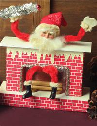 DOWN THE CHIMNEY FIGURINE