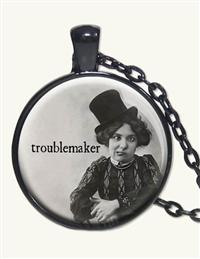 TROUBLEMAKER PENDANT NECKLACE