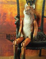 HONEST JOHN HANDCARVED FOX