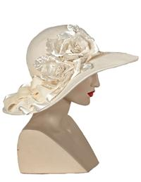 LOUISE GREEN WINTER ROSES WIDEBRIM