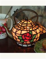 Tiffany Teapot Lamp