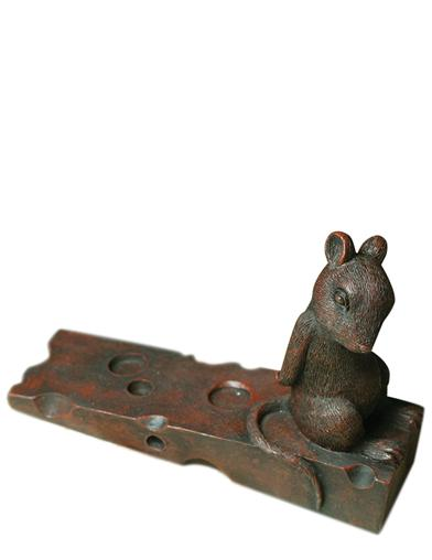 Mousekin's Duty Doorstop