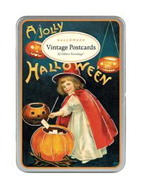 A JOLLY HALLOWEEN VINTAGE POSTCARDS