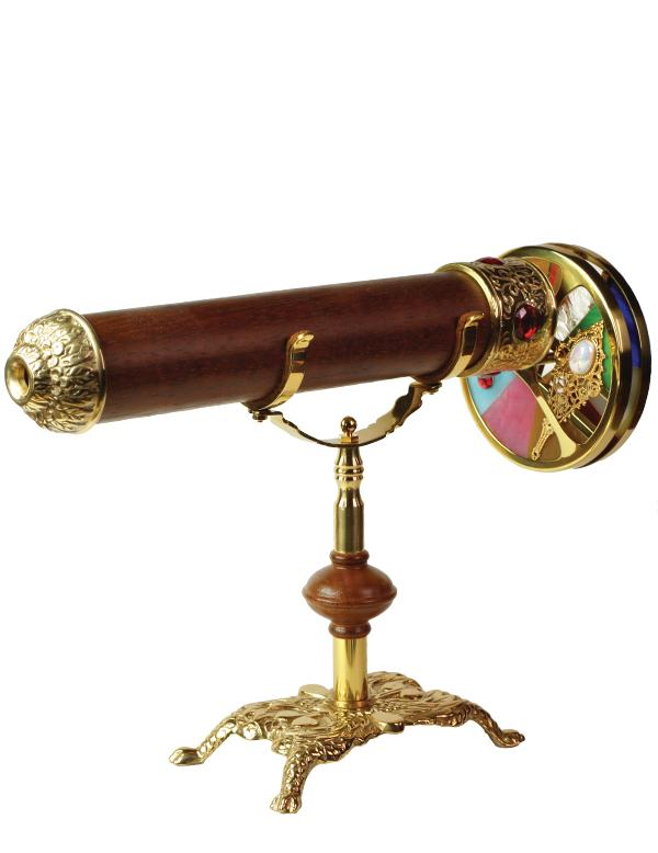 Sir Brewster Mounted Kaleidoscope