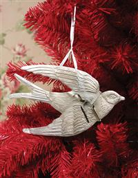 SWALLOW KEEPSAKE ORNAMENT