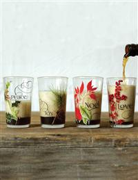 GLAD TIDINGS TUMBLERS (SET OF 4)