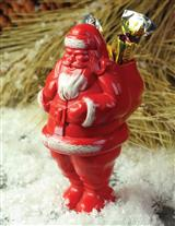 VINTAGE SANTA TREAT HOLDER