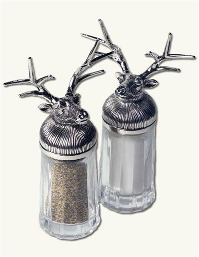 Dasher & Dancer Salt & Pepper Set