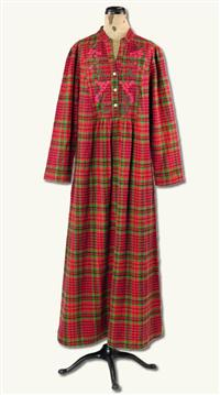APRIL CORNELL ALPINE FLANNEL NIGHTGOWN