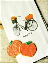 HAPPY FALL GUEST TOWEL