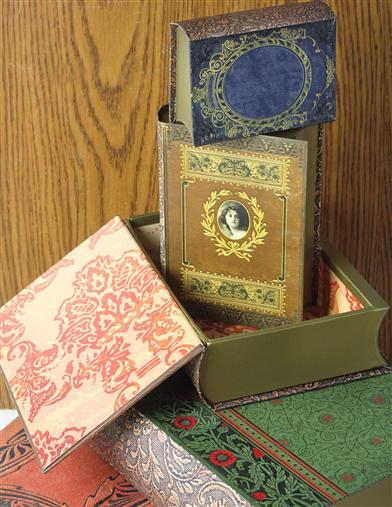 Lord Byron Book Boxes (Set Of 5)